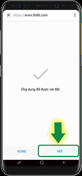 Mở ứng dụng