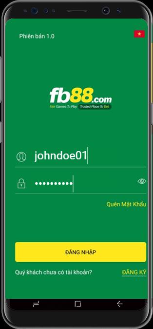 Đăng nhập FB88